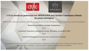 partenariat CNJC MEDICINGS